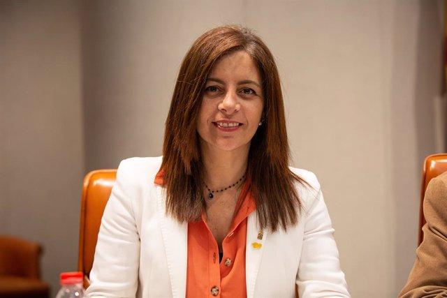 Archivo - Arxiu - La presidenta de l'ICD, Laura Martínez.