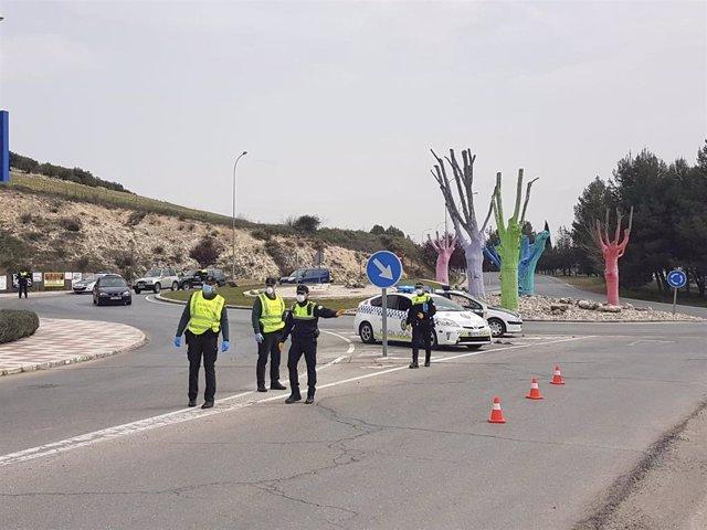Control en Alcalá la Real para asegurar el cierre perimetral/Archivo