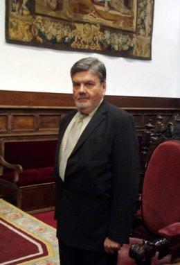 Archivo - El magistrado Jorge Rodríguez-Zapata