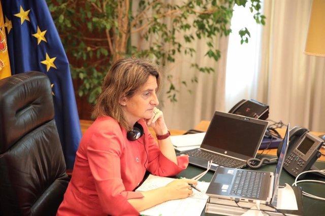 La ministra para la Transición Ecológica y Reto Demográfico, Teresa Ribera.