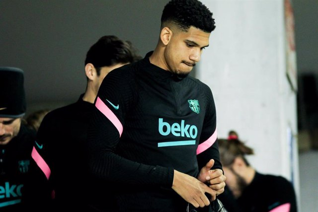 Archivo - Ronald Araújo, jugador del FC Barcelona