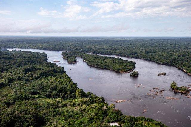 Vista de la Amazonía brasileña