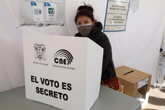 Archivo - Imagen de archivo del CNE de Ecuador.