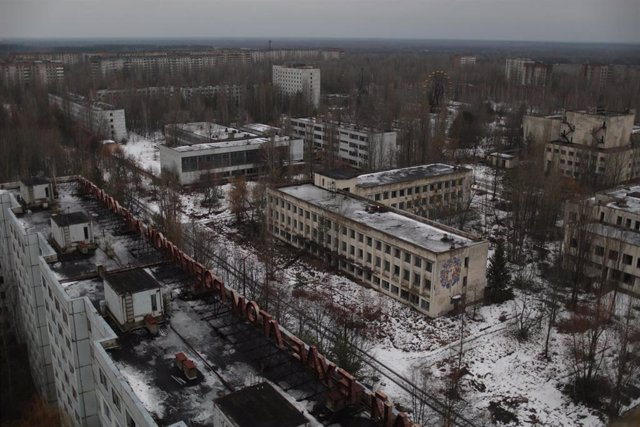 Archivo - Imagen de archivo de la zona de exclusión de Chernóbil