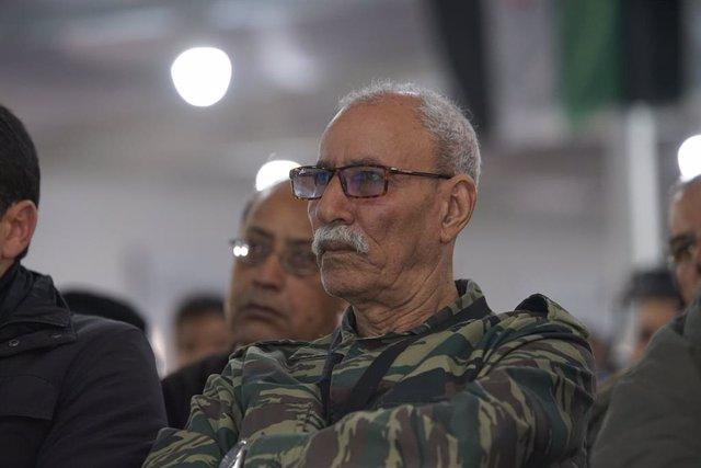 Archivo - Arxiu - Brahim Gali, president de la RASD i secretari general del Front Polisario