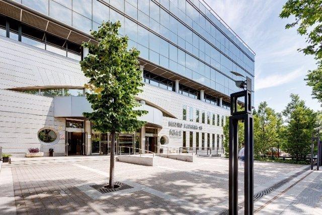 Archivo - Edificio en la calle Mateo Inurria 15 de Madrid que Mapfre aporta a la joint venture con las entidades de Swiss Life Group.