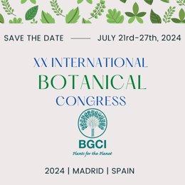 España acogerá el Congreso Internacional de Botánica en 2024