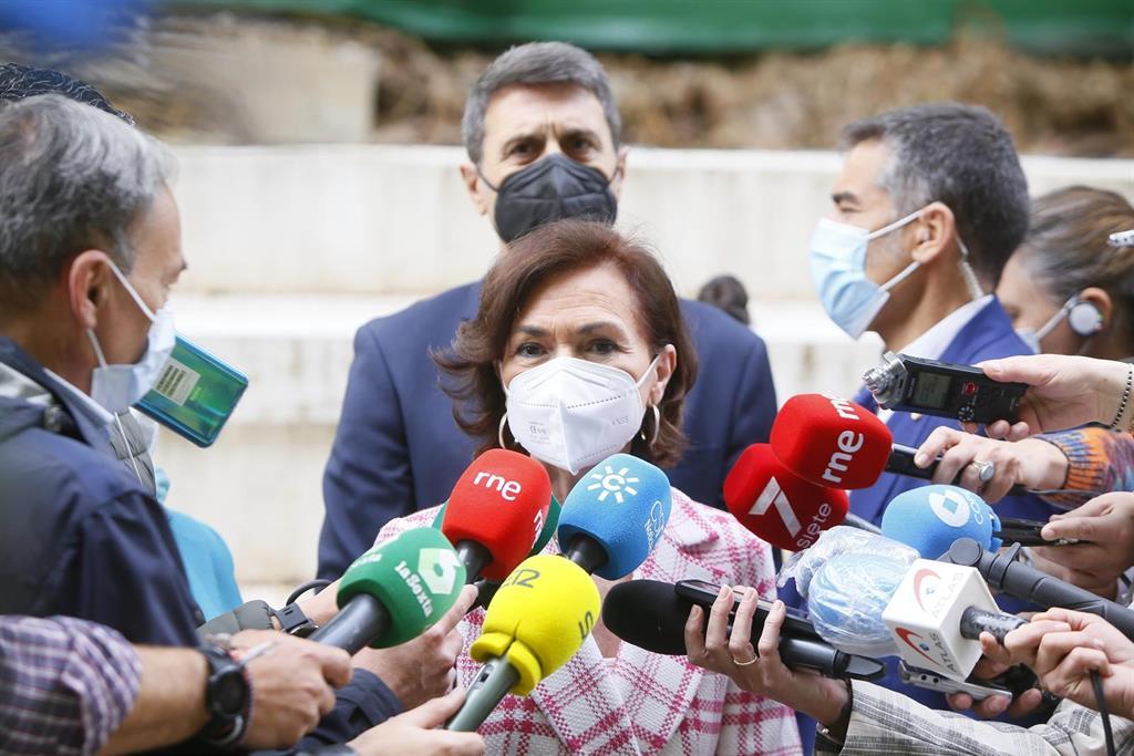 """Calvo ve """"gravísima"""" la amenaza de muerte a Marlaska, Iglesias y Gámez: """"No pararemos hasta encontrar al responsable"""""""