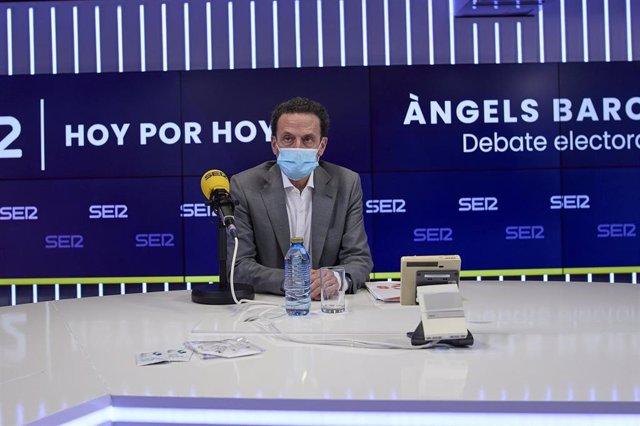 Edmundo Bal en el debate de la Ser