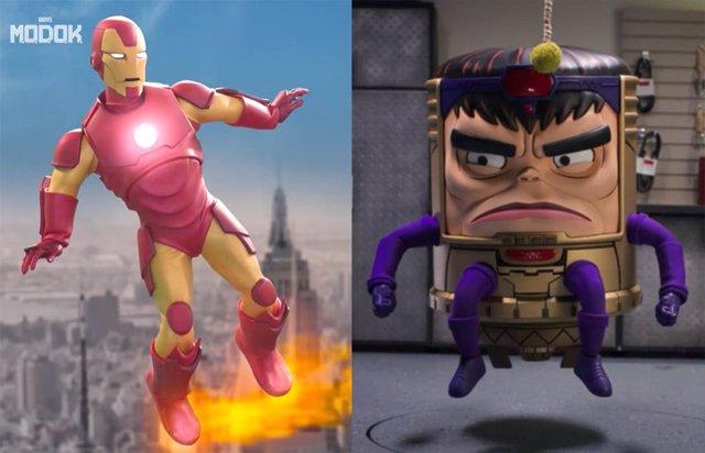 Tráiler sin censura de MODOK: La comedia del irreverente villano de Marvel... Con Iron Man y Wonder Man