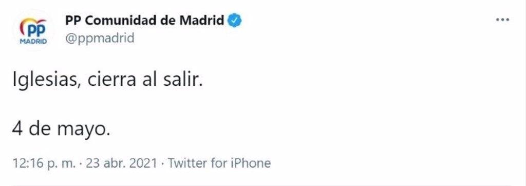 Elecciones a la Asamblea de Madrid 4 de mayo de 2021! ¡Vuelve la guerra fría!.  - Página 4 Fotonoticia_20210423125003_1024