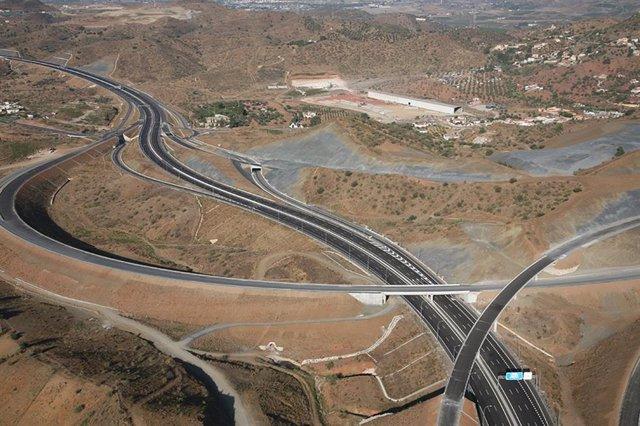 Archivo - Autopista AP-46 Alto de las Pedrizas-Málaga