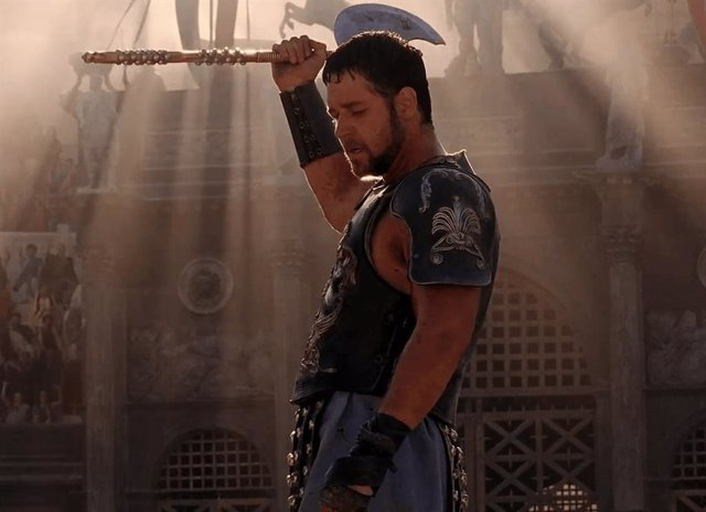 Archivo - Russell Crowe en Gladiator