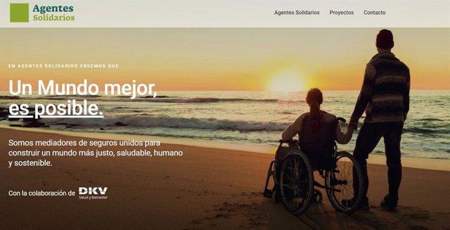 Nace 'Agentes Solidarios', un proyecto social de mediadores de DKV que cuenta con la implicación de Alejandro Sanz