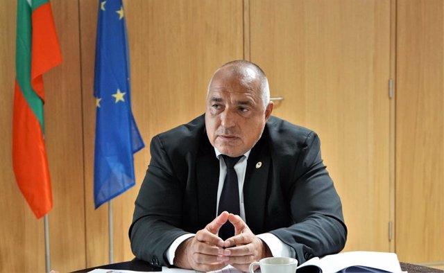 Archivo - Boiko Borisov, primer ministro de Bulgaria