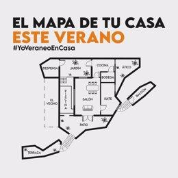 El mapa de tu casa este verano