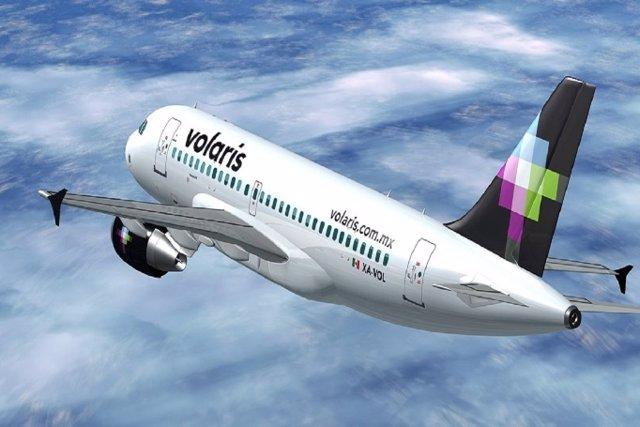 Avión de Volaris.