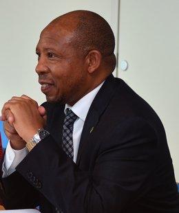 El primer ministro de Lesoto, Moeketsi Majoro