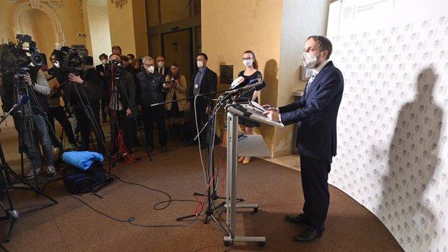 El ministro de Exteriores checo, Jakub Kulhanek.