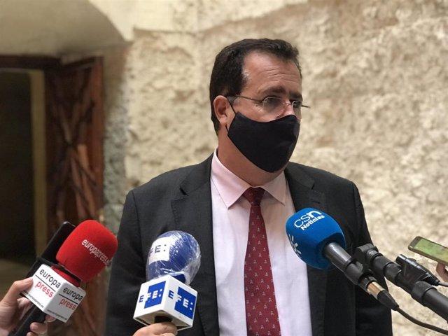 Archivo - El delegado de Gobernación del Ayuntamiento de Sevilla, Juan Carlos Cabrera