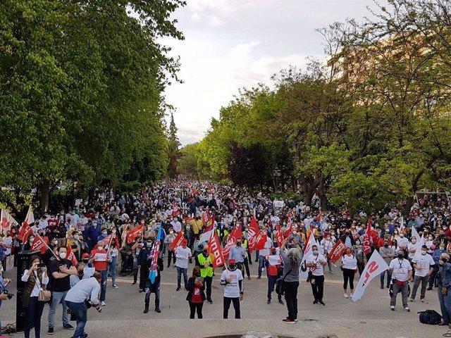 Marcha Repsol en Puertollano