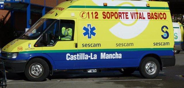 Archivo - Ambulancia de Soporte Vital Básico.