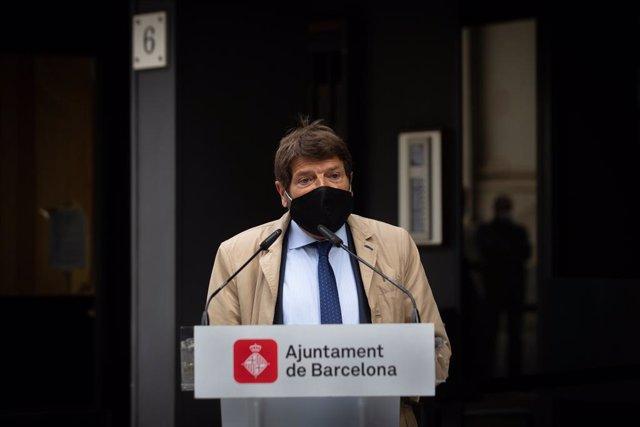 El tinent de Seguiridad de Barcelona, Albert Batlle,