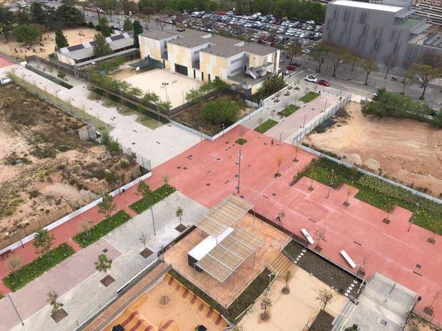 La nova rambla Marta Mata al districte barceloní de Sant Andreu.
