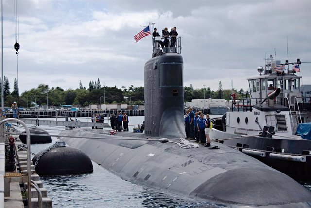 Submarino de la Armada estadounidense