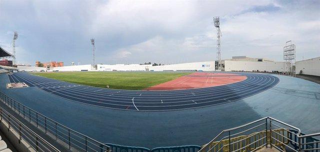 Archivo - Estadio Iberoamericano de Atletismo.