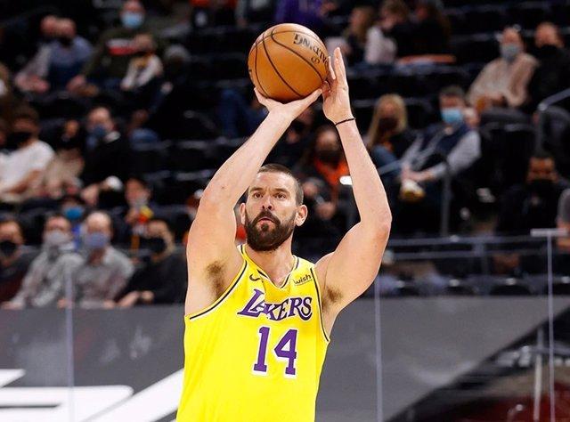 Archivo - Marc Gasol (Lakers)