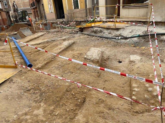 Excavaciones calle Eras de Calahorra