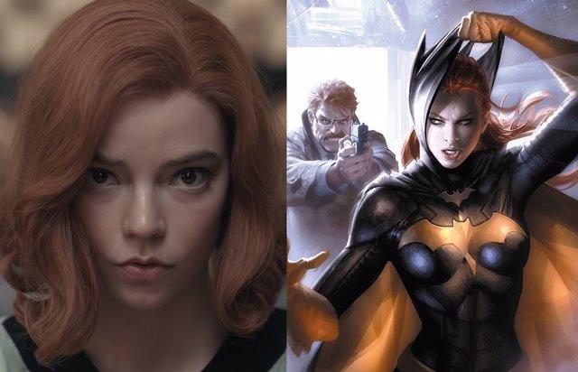 Anya Taylor-Joy (Gambito de Dama) es Batgirl gracias a este genial fan-art