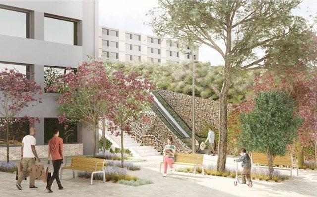 Nou Barris destina 4,5 milions d'euros a la reurbanització i millora del barri en 2021