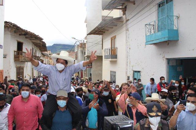 El candidat presidencial peruà Pedro Castillo