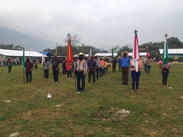Despedida de la delegación del EZLN que visitará Europa