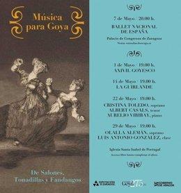 El grupo Axivil ofrecerá un concierto goyesco el 1 de mayo en la iglesia de Santa Isabel de Portugal-