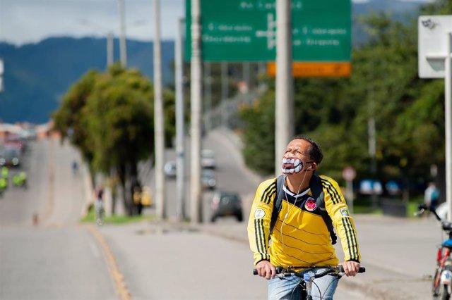Archivo - Colombia suma más de 9.200 contagios de coronavirus en las últimas 24 horas.