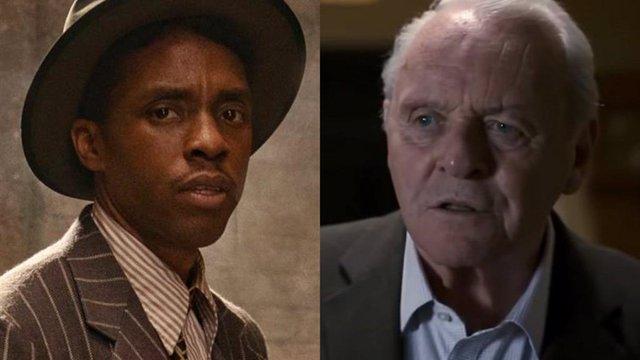 """Indignación con la victoria de Anthony Hopkins sobre Chadwick Boseman en los Oscar 2021: """"Volvemos a los #OscarsSoWhite"""""""