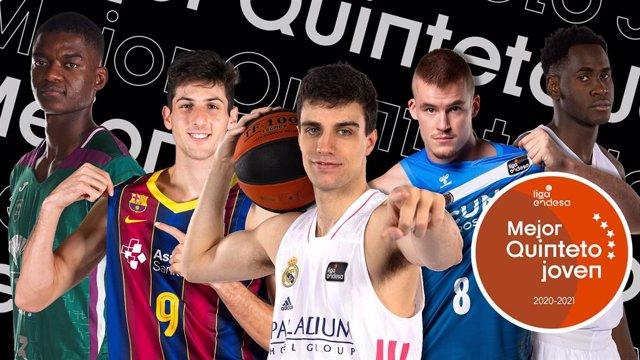 Mejor Quinteto Joven de la Liga Endesa