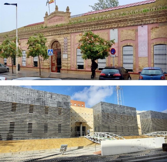 Edificios de Huelva.
