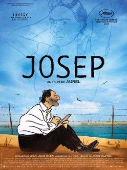 Archivo - Arxiu - Cartell de la pel·lícula 'Josep'.