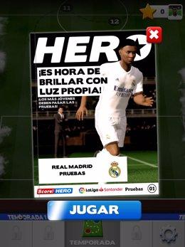 El juego 'Score! Hero 2' se lanza en todo el mundo con los equipos de LaLiga.