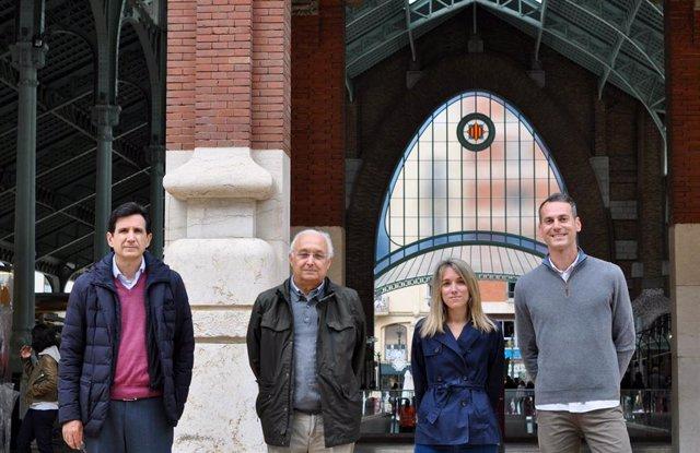 José María Benlloch, Jorge Gálvez, María Gálvez Llompart y Riccardo Zanni.