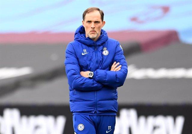 El entrenador del Chelsea, Thomas Tuchel