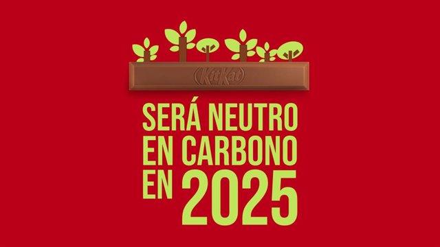 La marca KitKat espera llegar a las cero emisiones de carbono en 2025