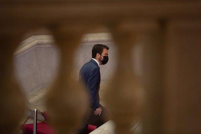 Arxiu - El vicepresident de la Generalitat en funcions i candidat d'ERC a la presidència, Pere Aragonès.