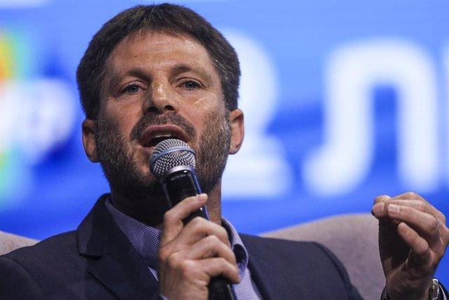 Archivo - El líder del partido Sionismo Religioso, Bezalel Smotrich