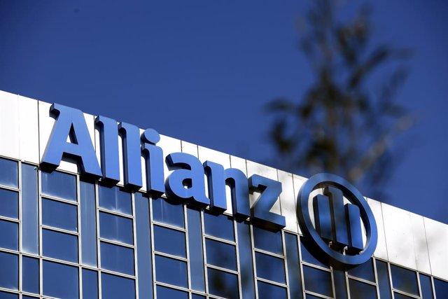 Archivo - Letras de la empresa de seguros Allianz en su sede en Madrid, a 21 de febrero de 2020.