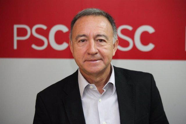 Archivo - Arxiu - Antoni Poveda, primer secretari del PSC del Baix Llobregat.